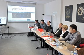Sesame Net project partners' meeting, Nova Gorica, Jan 2017.